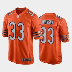 Chicago Bears Jaylon Johnson Orange Jersey